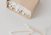 Emballage de coton tige ecoresponsable